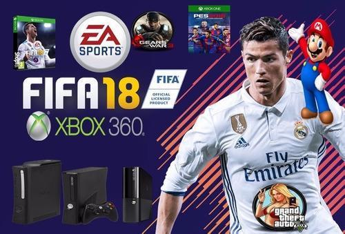 XBOX 360 +500GB + 1 CONTROL OROGINAL+ 87 TITULOS FIFA 19 segunda mano  México (Todas las ciudades)