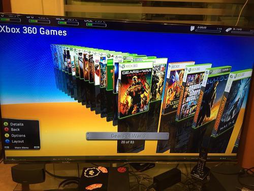 Xbox 360 80 juegos mas nuevos 2019 en disco duro envio gra