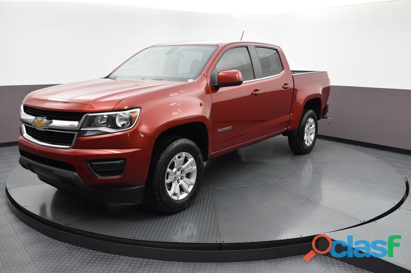 Chevrolet colorado 2016 rojo