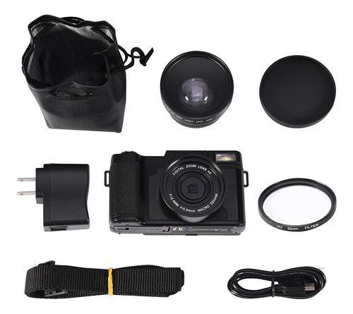 24mp Full Hd 1080p 4 Veces Zoom Digital Giratorio Cámara De