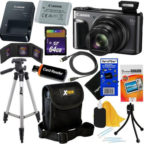 Canon Powershot Sx720 Hs 20 Cámara Fotográfica Digital Wi