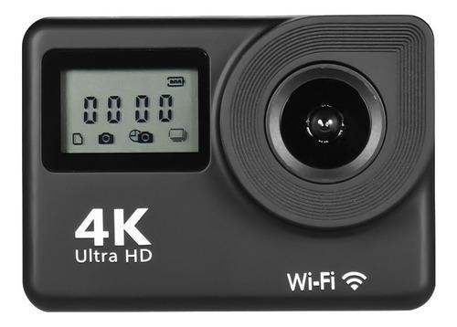 Cámara deportiva 4k wifi de 18mp con gran angular de 170°