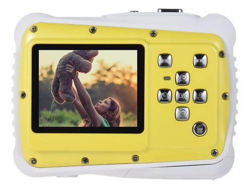 Cámara Digital 720p Hd Tamaño Compacto Amarillo