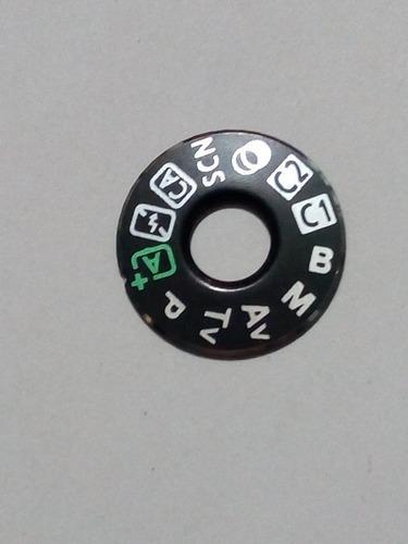 Dial De Funciones Para La Cámara Canon Digital 80d
