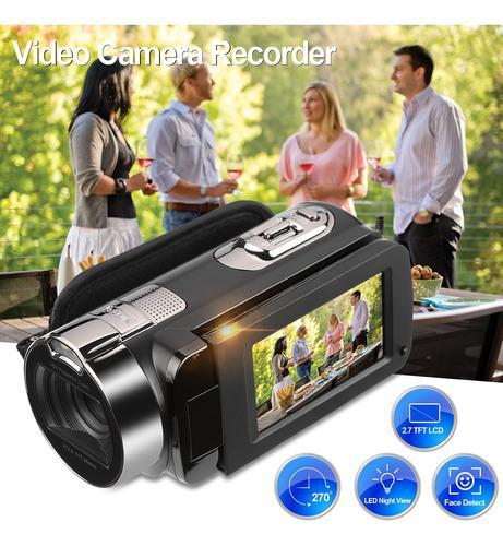 Floureon 1080p Full Hd Cámara De Video Digital Portátil