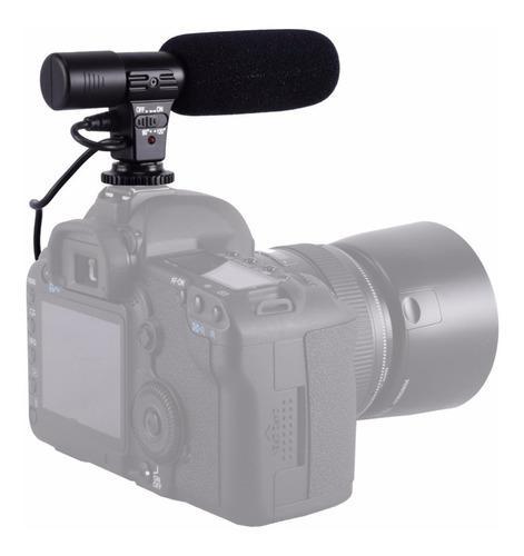 Microfono digital dslr para camara grabacion estereo