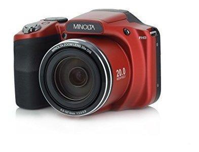 Minolta Mn35z-r - Cámara Digital (20 Mega Píxeles, Zoom
