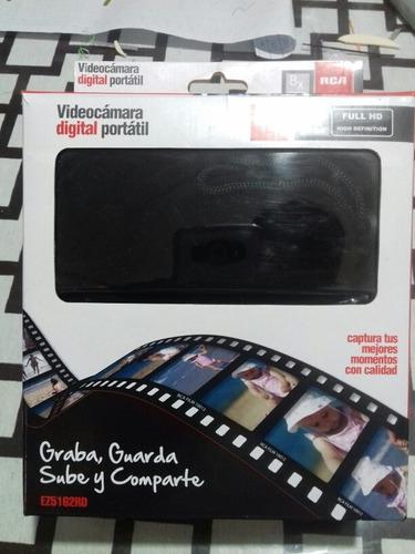 Rca videocámara digital portátil rca full hd 8xzoom hdmi