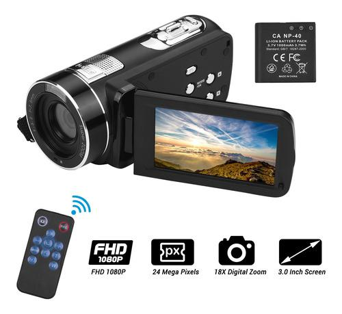 Videocámara digital fulll hd 1080p 24mp cámara de video
