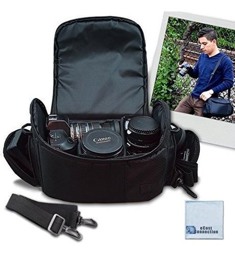 Videocámara digital grande / bolsa de viaje acolchada /