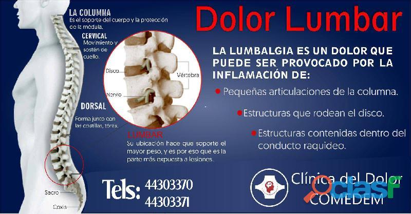 Dolor lumbar clínica del dolor