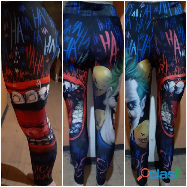 Leggings dama superhéroes
