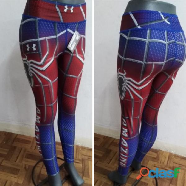 Leggings dama superhéroes 9