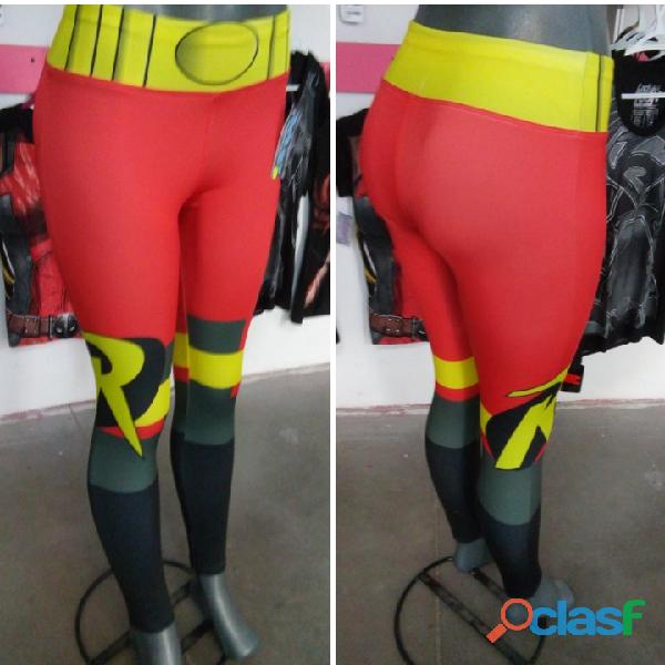 Leggings dama superhéroes 6