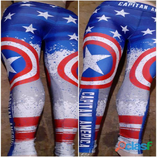 Leggings dama superhéroes 3