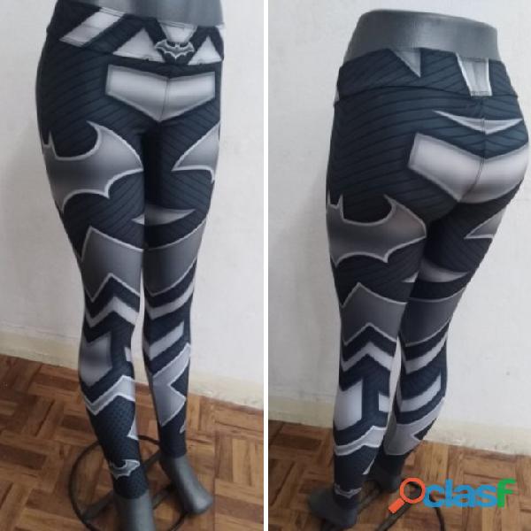 Leggings dama superhéroes 5