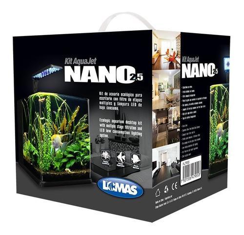 Acuario nano cubo 18 litros pecera acuario