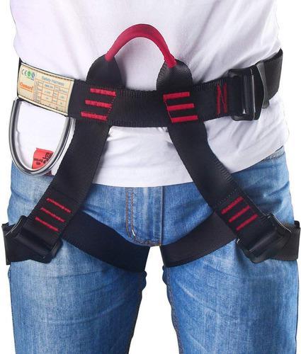 Cinturone harness de seguridad para alpinismo unisex