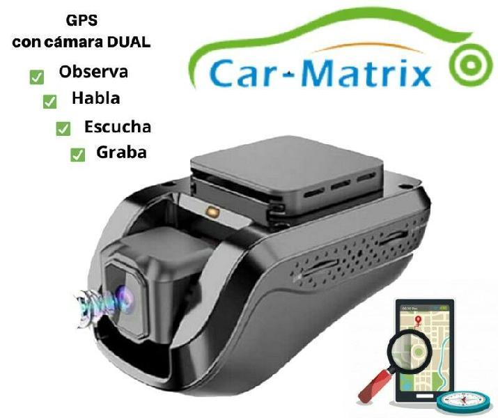 Gps carmatrix en cuernavaca con camara dual