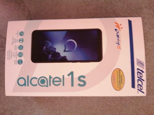 Celular alcatel 1s color negro 32gb
