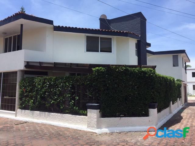 Casa sola residencial en venta en colonia emiliano zapata, san andrés cholula