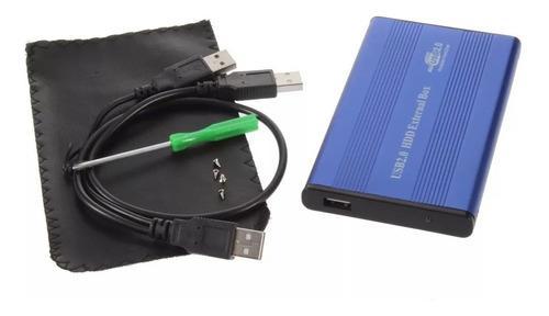 Case gabinete external disco duro sata usb 2.0