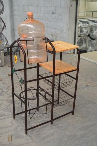Mueble para cocina modelo doble garrafon