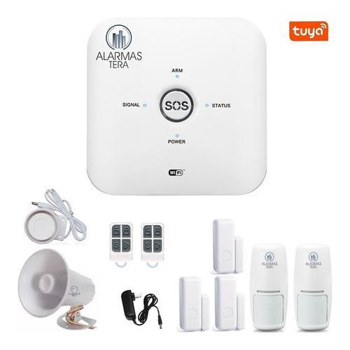 T21 alarma wifi gsm celular inalambrica casa negocio