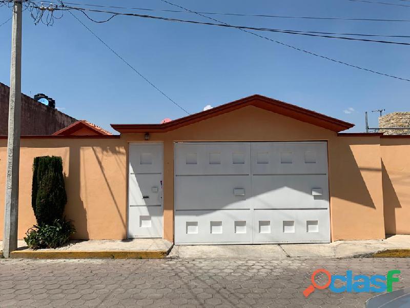 Casa amueblada en renta en la colonia loma bonita, tlaxcala, tlax.
