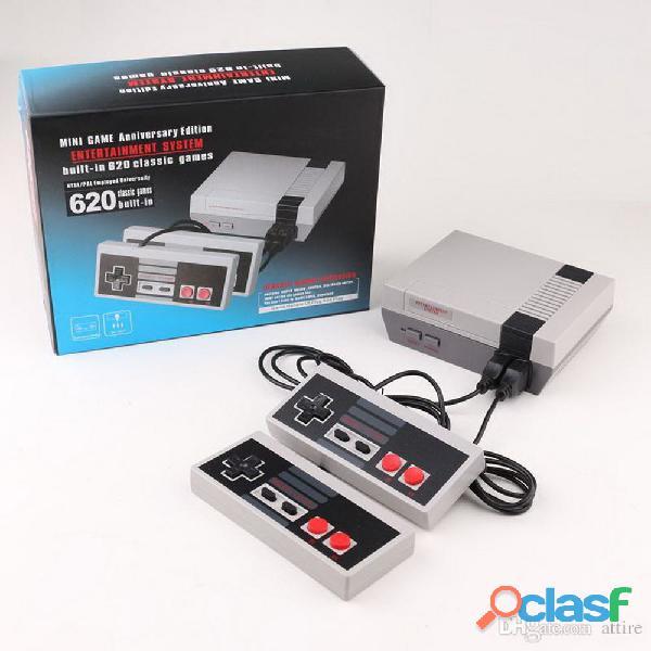 Consola mini nes con 620 juegos retro