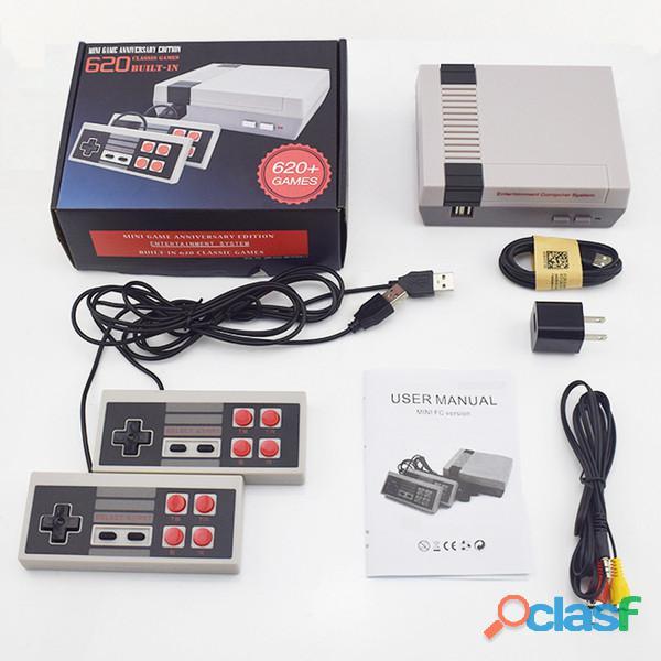Consola Mini Nes con 620 juegos retro 3