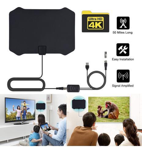 Antena de tv interior universal de bajo ruido hdtv tv digita