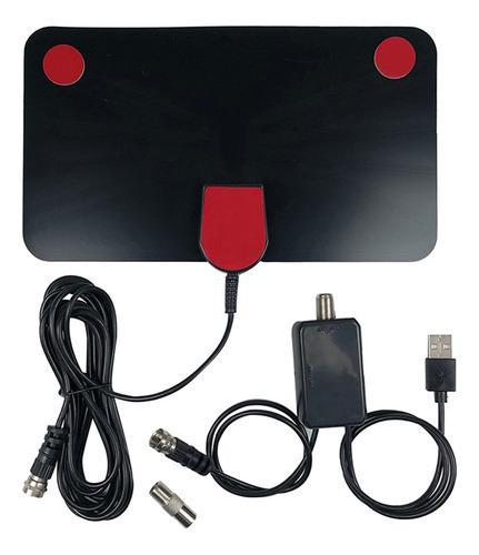 Antena digital hd tv amplificador interior señal