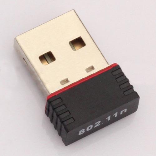 Mini ordenador personal adaptador wifi antena usb receptor s