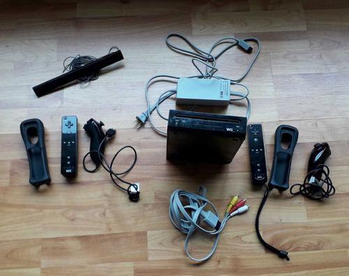 Wii usado con accesorios y 32 juegos.wii u usado 1 jg, gpad
