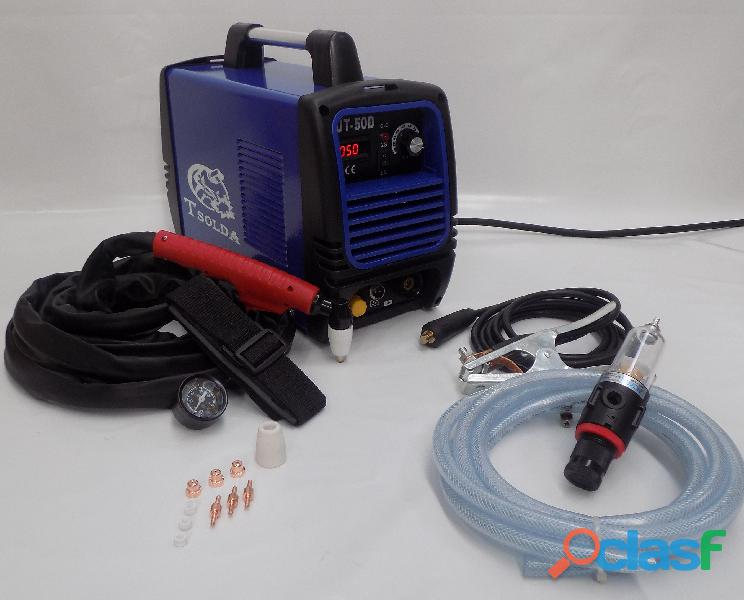 Cortadora de plasma 50amp corte hasta 14mm para 110/220v