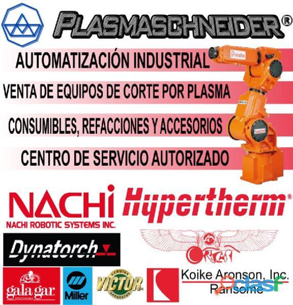 Venta, mantenimiento y reparación de maquinaria industrial