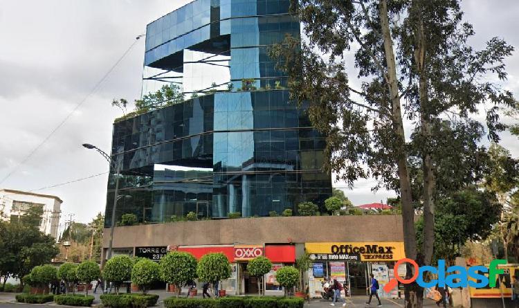 Oficina en venta en insurgentes sur colonia chimalistac, oficina en venta 323 m2 de superficie.