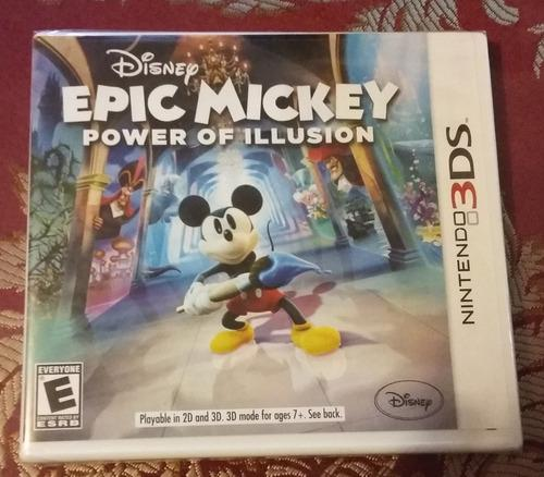 Disney epic mickey | power of illusion | nintendo 3ds
