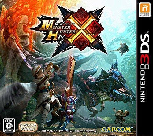 Juegos,nintendo 3ds monster hunter x cross (versión japo..