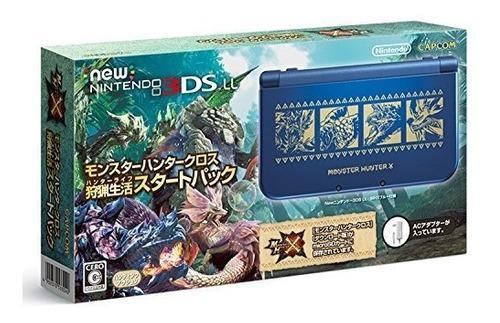 Juegos,nueva nintendo 3ds xl monster hunter cruz vida de..