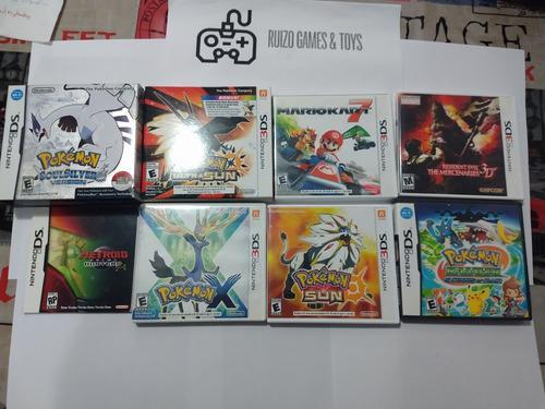 Lote de videojuegos de nintendo wii, ds, 3ds y gamecube