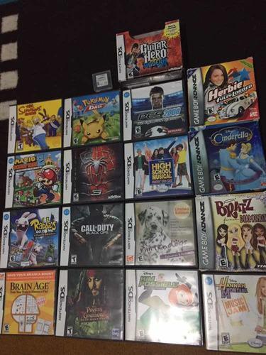 Nintendo ds juegos