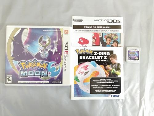 Pokémon moon de 3ds