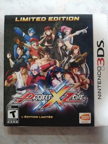 Project x zone limited edition nuevo y sellado!!