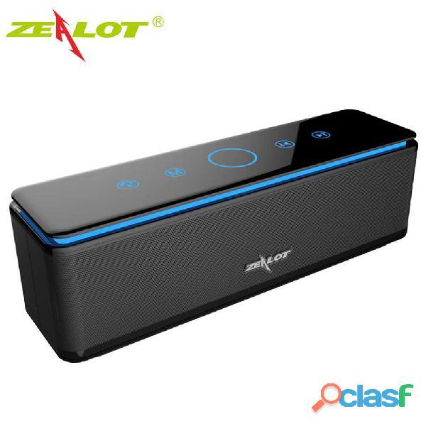 Altavoz bluetooth zealot s7 subwoofer altavoz portátil pequeño teléfono inalámbrico altavoz