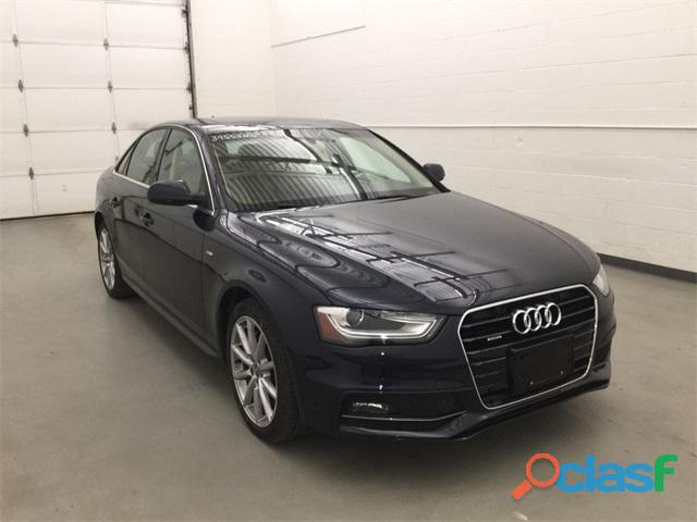 Audi a4 año fabricacion 2015