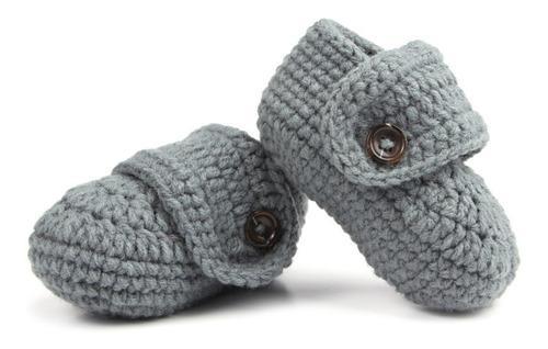 Bebé tejida a mano suaves zapatos de niño inferior xd-227