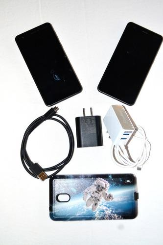 Kit 2 x celular nokia 2 ta-1035ds. ¡memorias sd y carcasas!