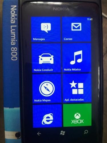 Nokia lumia 800 detalles exhibicion